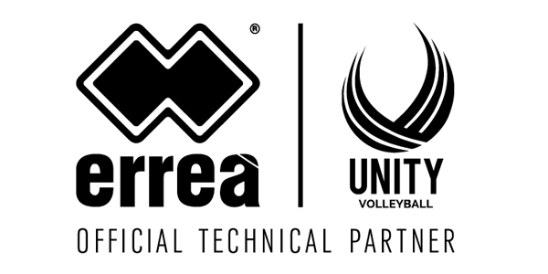 errea announces technical partnership with Unity Volleyball